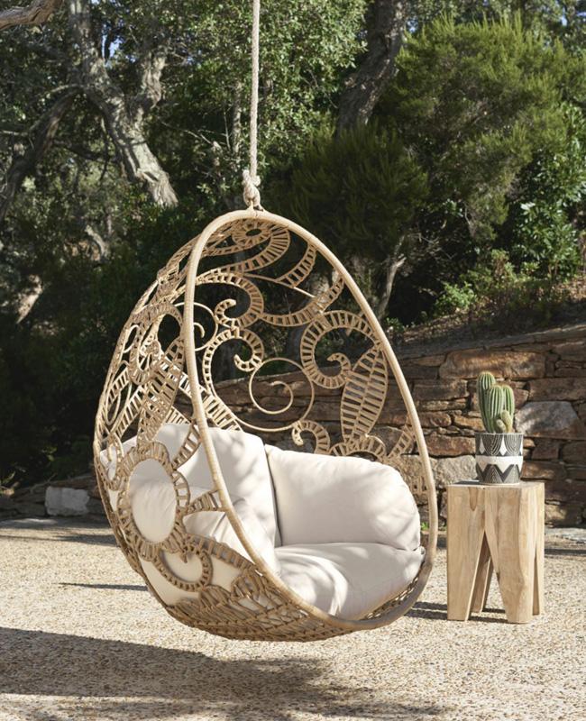 fauteuil suspendu naturel