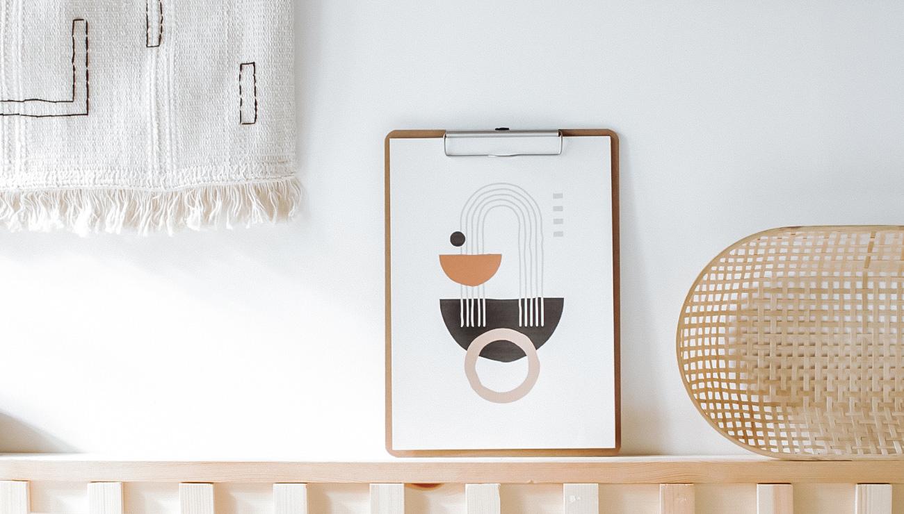 affiche moderne abstraite a imprimer gratuit printable