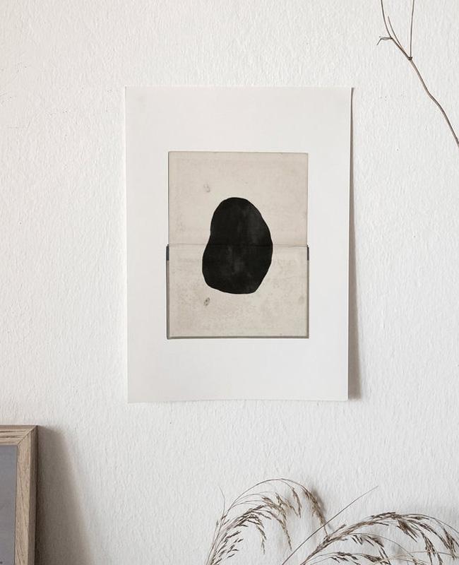 affiche moderne abstraite