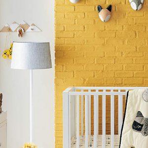 deco chambre bébé jaune