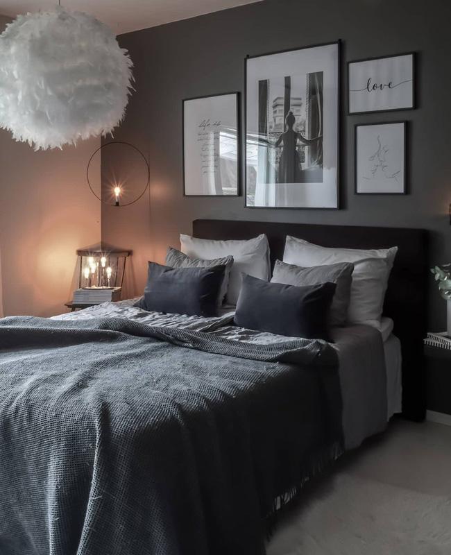 deco chambre gris plaid
