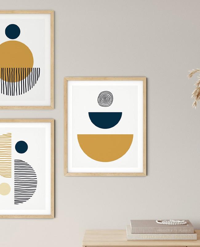 affiche moderne abstraite a imprimer