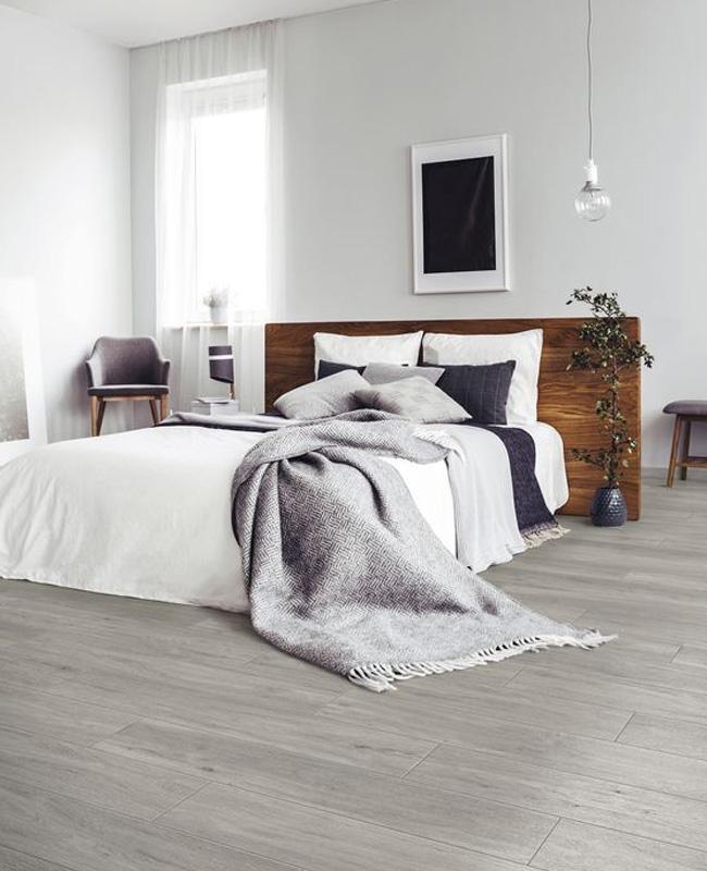 deco chambre gris parquet