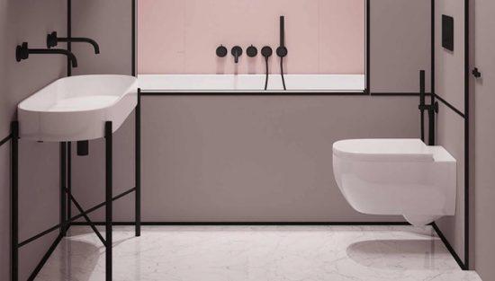 deco toilettes wc rose