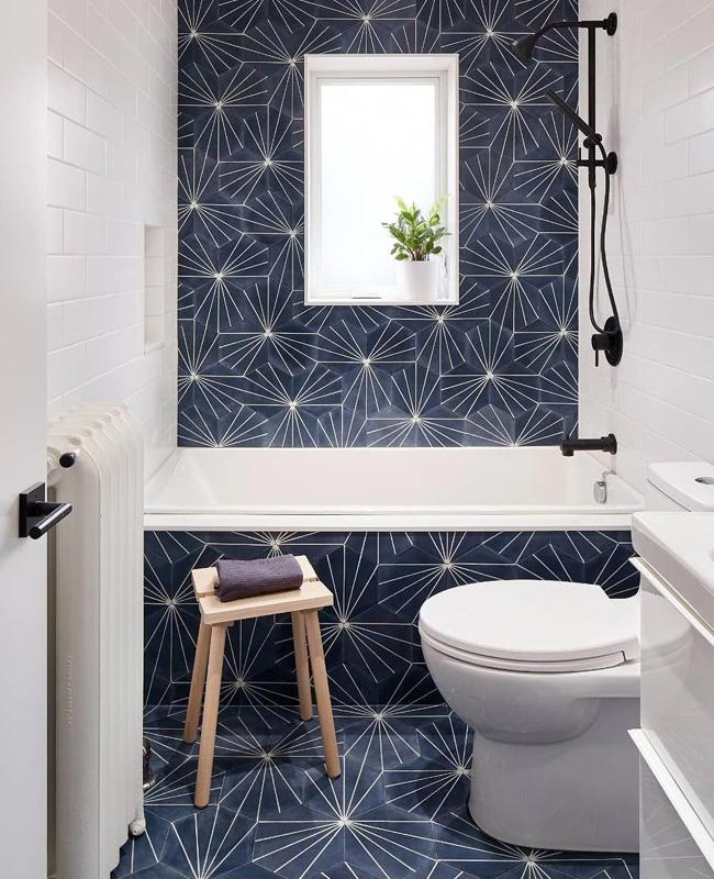 deco carreaux de ciment toilettes wc moderne