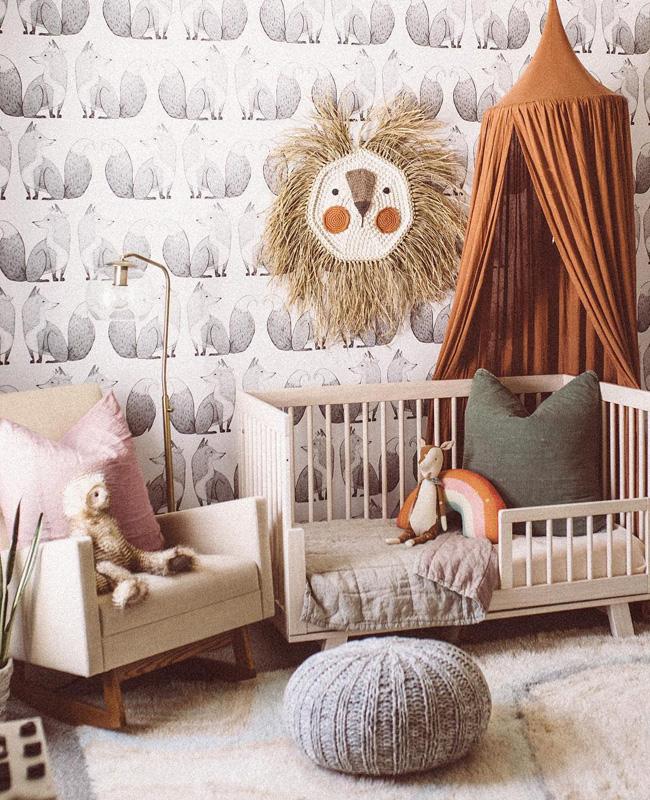 deco chambre bebe meuble beige