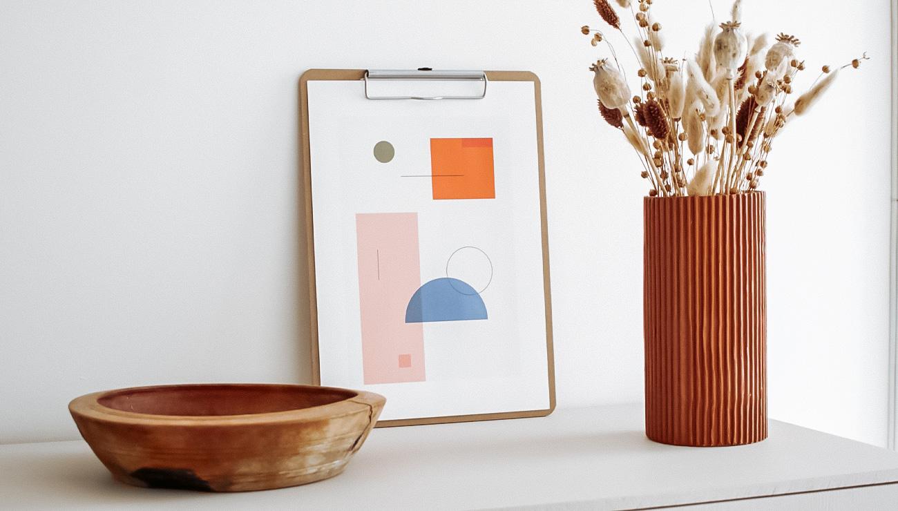 affiche moderne geometrique a imprimer gratuit printable
