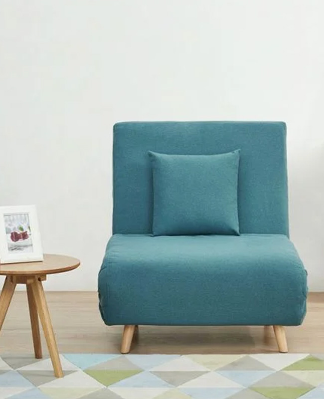 fauteuil lit convertible scandinave